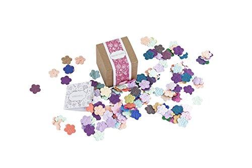 PAPERBLOOMS Seedbombs - Blühende Konfetti Blumen bunt, Blumensamen als Geschenk zum Valentinstag