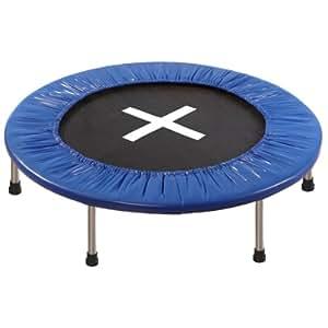Ultrasport Trampolino Jumper 96 cm, 6 Piedi, 32 Molle, Blu