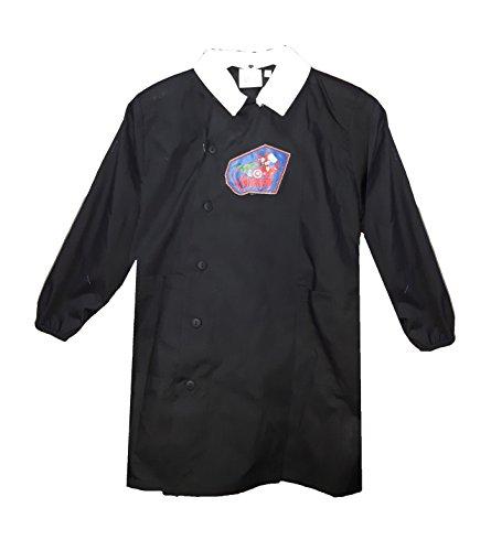 Grembiule scuola bimbo con bottoni averngers marvel nuova collezione nero art. g050 (70)