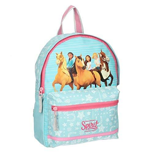 DreamWorks 9757 Spirit Riding Free Kinder-Rucksack 30cm 4.4L Plus Sticker-Bogen