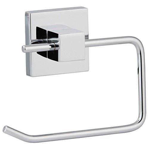 Preisvergleich Produktbild FACKELMANN Toilettenpapierhalter MARE,  verchromter Klopapierhalter (Farbe: Silber),  Menge: 1 Stück