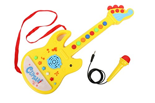 Tickles Musical Guitar with Microphone electronical kids boy girl birthday gift 45 cm