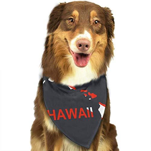 Sdltkhy Hawaii Scuba Dive Flag Pet Scarf Dog Bandana Bibs Triangle Head Scarfs