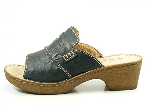 Josef Seibel 62905 Rebecca 05 Damen Schuhe Sandalen Pantoletten Clogs Blau