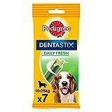 Pedigree - Dentastix Fresh pour moyen chien (10-25kg) - Sachet de 7 bâtonnets à mâcher