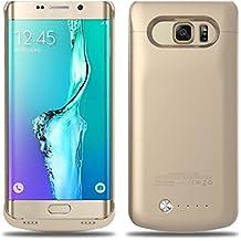 Vanda® 4200MAH Power Bank externa recargable funda emergencia batería cargador Etuis carcasa para Samsung Galaxy S6EDGE PLUS SM-G928oro