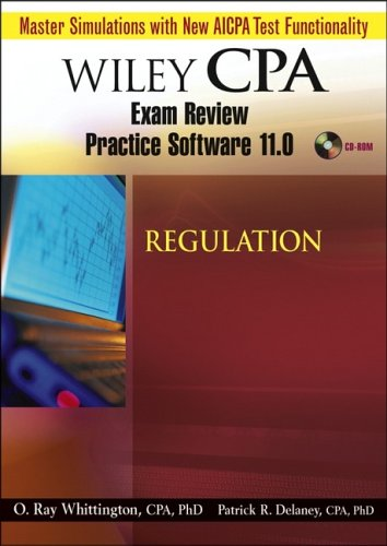 Wiley CPA Examination Review Practice Software 11.0 Reg