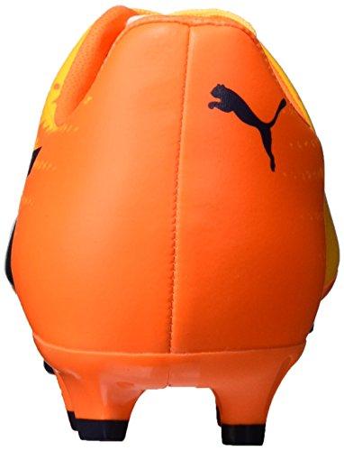 Puma Evospeed 17.4 Fg, Chaussures de Football Homme Jaune (Ultra Yellow-peacoat-orange Clown Fish 04)