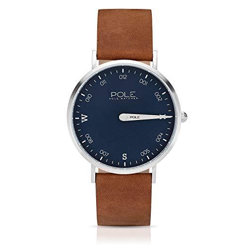 a0f775c36c65 Pole Watches - Livid - Reloj Analógico de Cuarzo para Hombres con Esfera  Azul y Correa