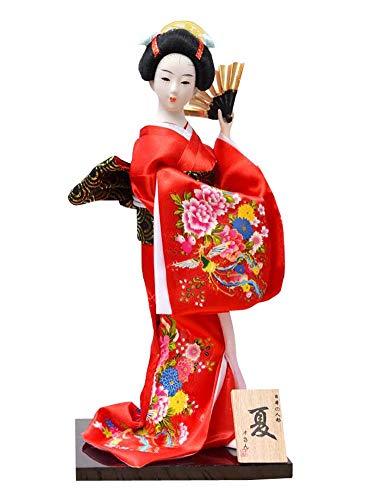 Jingyun Figura Japonesa única de la muñeca de la decoración de la Barra del Sushi de la Geisha Japonesa A02