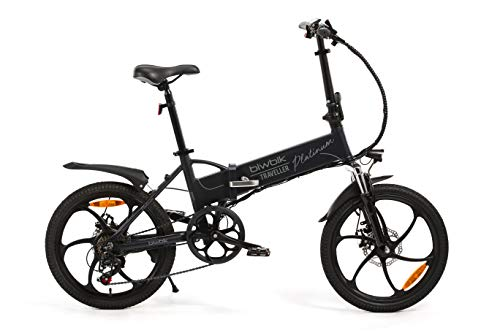 Bicicletta elettrica pieghevole biwbik traveller platinum