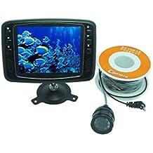 Buscador de peces cámara de vídeo bajo el agua 600Línea de TV Monitor LCD de 3,5pulgadas 15m Cable 150¡ã gran angular aparejos de pesca
