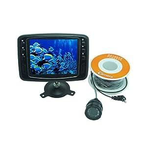 Fish Finder Caméra vidéo sous-marine 600lignes TV 8,9cm Moniteur LCD 15m câble 150° Grand Angle articles de pêche