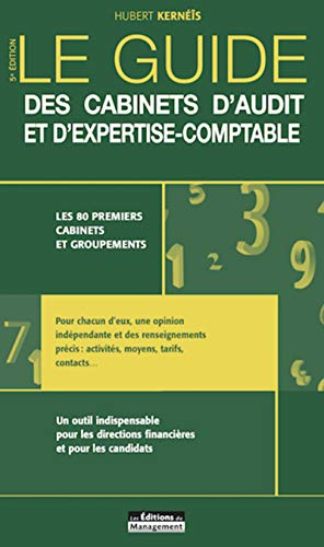 Guide des cabinets d'audit et d'expertise-comptable par Hubert Kernéïs