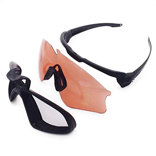 Yu&cw Army Fan O Standard Explosionsgeschützte Schutzbrille Tactical Eye Protector Shooting Glasses Staub- und Winddichte Schutzbrille