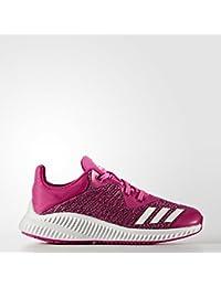 adidas FortaRun K - Zapatillas de deportepara niños, Rosa - (PURSHO/MARUNI/FTWBLA), 5