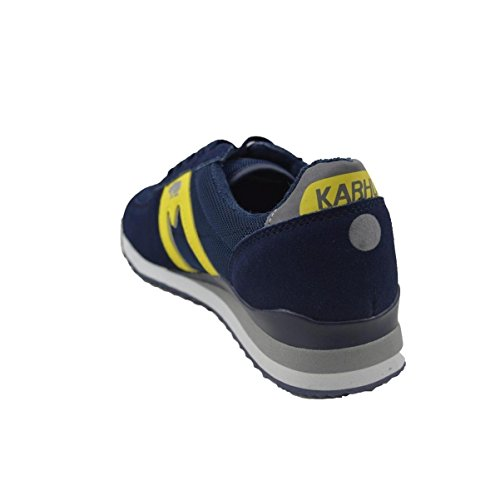 Zapatillas KARHU STADION azul/amarillo/planta