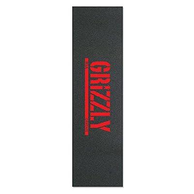 Grizzly Antirutsch-Klebeband-Stempel, Grizzly Red Grip Tape, Schwarz, 22.86 X 83.82 cm cm