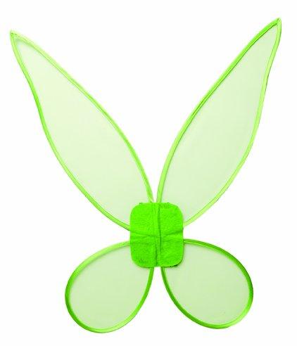 Kostüm Zubehör Flügel Feenflügel grün Elfe Kostüm Karneval ()