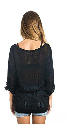 Rip Curl Femme Sweater Rayado Noir - noir