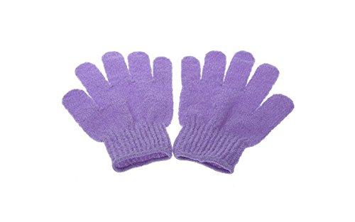 5Five 1 Paar Peeling Badhandschuh Dusche Hautpflege Wäscher Massage Sauber Handschuh Peelinghandschuh