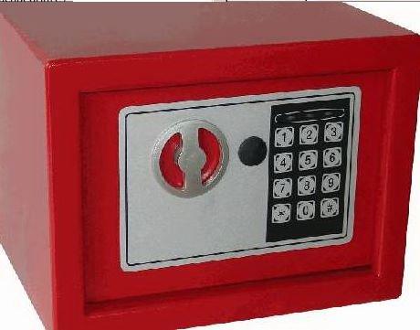PRIMASTER Mini-Tresor 23 x 17 x 17cm Safe Möbeltresor Wandtresor Tresor