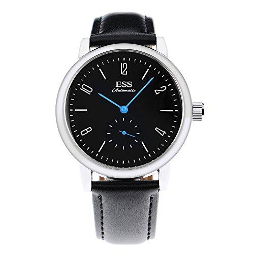 ESS Herren Selbstaufzug mechanische UhrAutomatik Uhren Geschäft Lässig Uhren