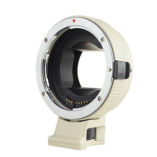 Usato, Commlite auto focus ef-nex ef-emount FX Lens adattatore usato  Spedito ovunque in Italia