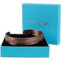 Chunky Kupfer magnetisch Armband/Armreif Keltischer Knoten Design by sisto-x ® 6Magnete Gesundheit NdFeB preisvergleich bei billige-tabletten.eu