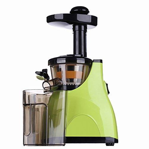stts Saftige Maschine Automatische Multifunktions - Saftpresse Langsam - Schleifmaschine Low - Speed Babysaft Entsafter Entsafter,Grün,28 * 18 * 45cm