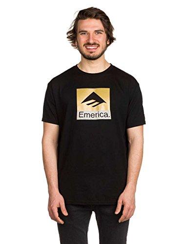Herren T-Shirt Emerica Combo T-Shirt Black/Gold
