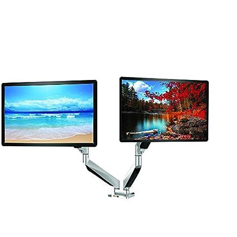 Luxus Verstellbar Gelenkige Drehgelenk Computer Monitor Arm Desktop mount Ständer