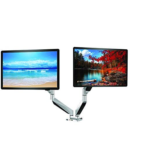 Thingy Club Verstellbar Gelenkige Drehgelenk Computer Monitor Arm Desktop Mount Ständer Workstation Support Halterung Halter Dual Monitor