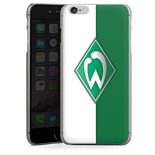 Apple iPhone 8 Plus Hülle Case Handyhülle Werder Bremen Fanartikel SV Bundesliga Fußball Hard Case anthrazit-klar