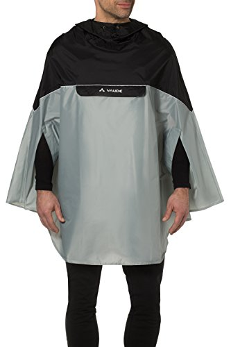 VAUDE Covero Ii Poncho, Unisex adulto, Light Grey, XS