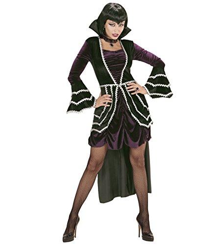 Erwachsene Gothic Kostüme Vampirin (Widmann 74123 Erwachsenen Kostüm