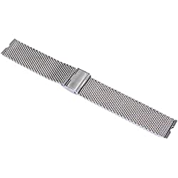 Silvercell Stainless Steel Watch Band For Motorola Moto 360 Smart Watch+Tool Excellent Silver