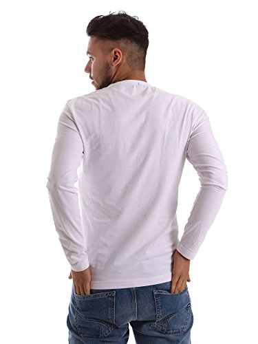 Gas 300161 T-shirt Man Bianco