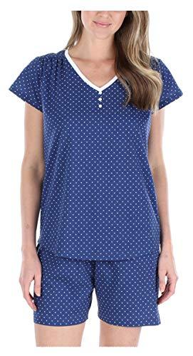 Sleepyheads Conjunto de Pijama y Camiseta de algodón con Cuello en V y pantalón de Dormir para Mujer (SHCJ1750-4075-UK-2X)