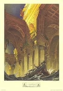 Schuiten - Les Naufragés - 69X98 Cm Affiche / Poster