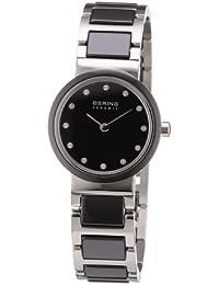 Bering Time Damen-Armbanduhr Ceramic Analog Quarz 10725-742