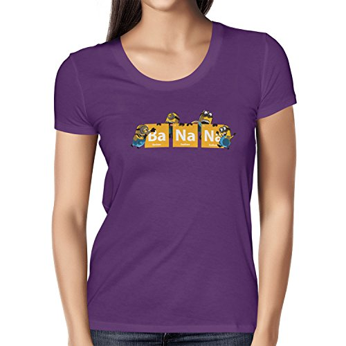 TEXLAB - Breaking Banana - Damen T-Shirt Violett