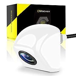 CAR ROVER Universal Rückfahrkamera CCD Chip für alle Auto Modelle-Umgedrehte Montage weiß
