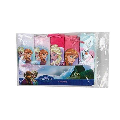 Frozen-Set di 5Mutandine-Ragazza-Multicolore Multicolore multicolore