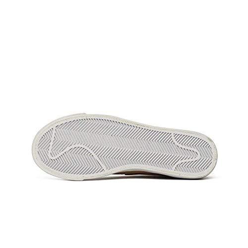 NIKE Schuhe Frau Sneaker Blazer Low Premium in beige Leder AA1557-200 -