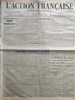 ACTION FRANCAISE (L') [No 275] du 02/10/1914 -...