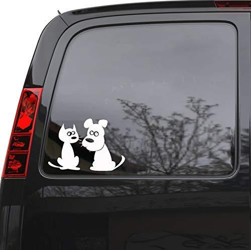 ANDIAOG-Home Auto Aufkleber Aufkleber Haustier Katze Hund Tiere LKW Laptop Fenster 7,5