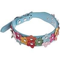 lunji–verstellbar-Halsband für Hunde und Katzen, Halskette-Blumen Mignon anti-traction