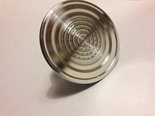 Cui seconda generazione di alta qualità alimentare in acciaio inox 316l capsule caffè compatibili