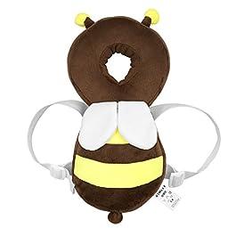 Cuscino di sicurezza regolabile, contro infortuni a testa, collo e spalle, per bambini di 4-24 mesi.